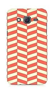 Amez designer printed 3d premium high quality back case cover for Samsung Galaxy J5 (Orange n Yellow Pattern2)