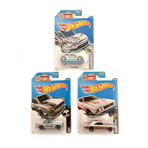 Hot Wheels Pack Zamac – BMW 2002 | Ford Fiesta | Dodge Charger 500