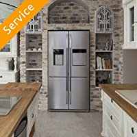 Free Standing Fridge Freezer Installation