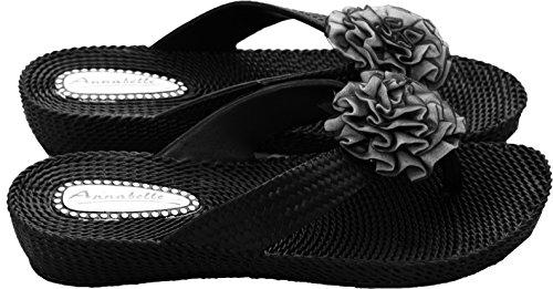 A&H Footwear - Flip flop da ragazza' donna Black