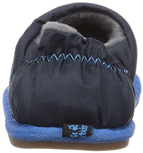 Jack Wolfskin Kids Big Paw Xt, Chaussons mixte enfant Bleu - Blau (electric blue 1062)