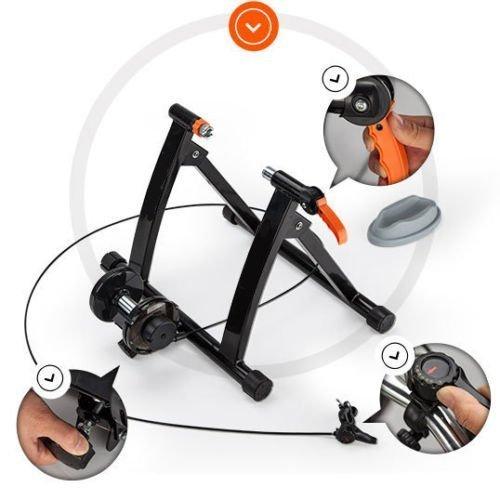 Boudech Rullo Allenamento RULLI Bici Bicicletta Bike Corsa MTB Mountainbike Velocita' Regolabile *Training*