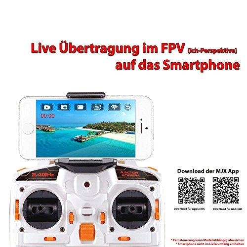 MJX C4008 HD Action Cam FPV Live Übertragung WIFI 720p HD-Kamera-Set auf Smartphone/Tablet für Mjx Quadrocopter X101,X102,X600 - 2