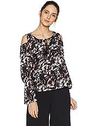 Amazon Brand - Symbol Women's Cold Shoulder Top