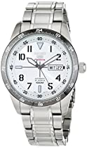 Seiko Herren-Armbanduhr XL Seiko 5 Sports Analog Automatik Edelstahl SRP517K1