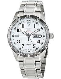 Seiko Herren - Armbanduhr 5 Analog Automatik Edelstahl SRP517K1