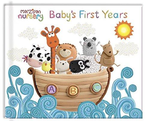Robert Frederick Marzipan Album primo anno del bambino, in plastica, colori assortiti