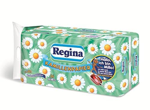 Regina Kamillenpapier Toilettenpapier, 16 Rollen