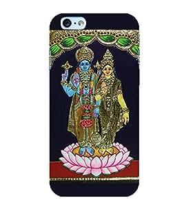Fuson Designer Back Case Cover for Apple iPhone 6 Plus :: Apple iPhone 6+ (Vishnu naarasimha Lakshmipati Krishna Vaikuntha)