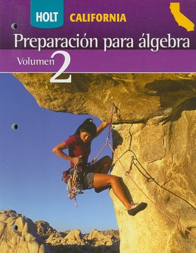 SPA-HOLT CA PREP ALGEBRA V02 (Alg Readiness 2008)