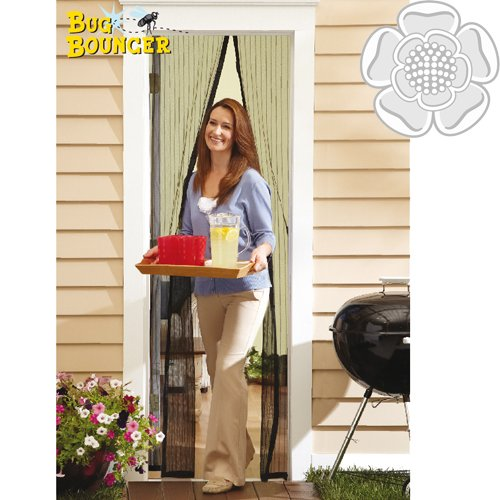 jvl-magnetic-self-close-insect-fly-door-curtain-screen-bug-bouncer-white