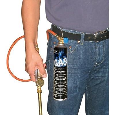 Euterhaarentferner 1,5m-Schl., für Gaskartusche, gebog. Lanze