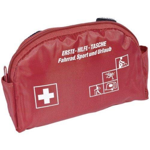 Erste-Hilfe-Tasche HORSE & RIDER, rot, 17x13