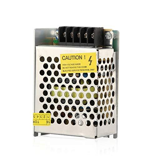 Silber 110V-220V DC 12V Netzteil Treiber Adapter führte Streifen-Licht-Schalter Zubehör Schalter -