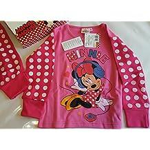 Minnie Mouse pijama niña pijama 128 cm 8 A Minnie con auriculares de Disney