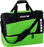 erima Sporttasche mit Bodenfach, Green/Schwarz, L, 723421