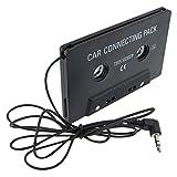 SODIAL(TM) Adaptateur de cassette pour autoradio/Noir
