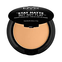 Nyx Professional Makeup Stay Matte Not Flat Powder Foundation, Fresh Beige, 7.5g