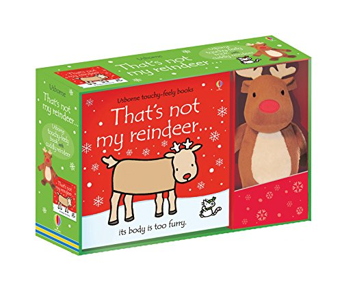 That\'s not my Reindeer Book and Toy