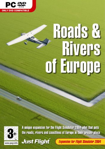 Just Flight Roads & Rivers of Europe Expansion Pack for FS 2004 [UK Import]