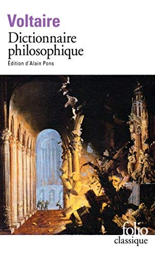 Dictionnaire Philosophique (Folio (Gallimard)) by Voltaire(1994-11-24)