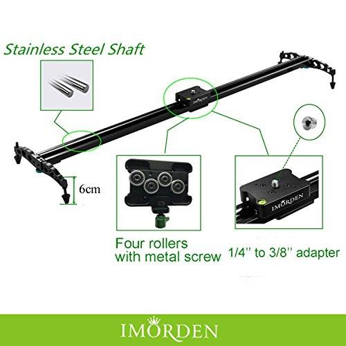 Cuscinetto-a-sfera-Imorden-DSLR-Slider-telecamera-medio-carrello-su-guida-per-sistema-di-stabilizzazione-video-per-videocamere