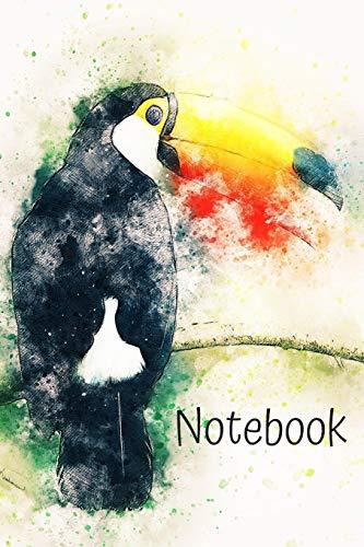 Notebook: Toucan Journal Great Present For Bird Lovers -