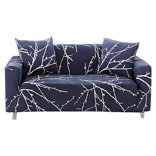 Forcheer copridivano sofa salotto protettore imbottito mobili copertura panno antiscivolo divano protector 3 posti (180-225cm)