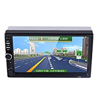 Sedeta 2Din Car Audio MP5 Player Mirror Link with Rear View Camera Remote Control Car Electronics AUX/USB/TF/FM Blue-tooth Audio Video Player