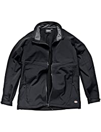 Dickies JW84950 BK M Size Medium Softshell Jacket - Black