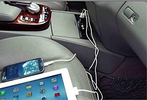 ZLONXUN Cargador Coche con Cable para Phone 6//6S Plus//7//7S Plus//8//8 Plus//X//5//5S