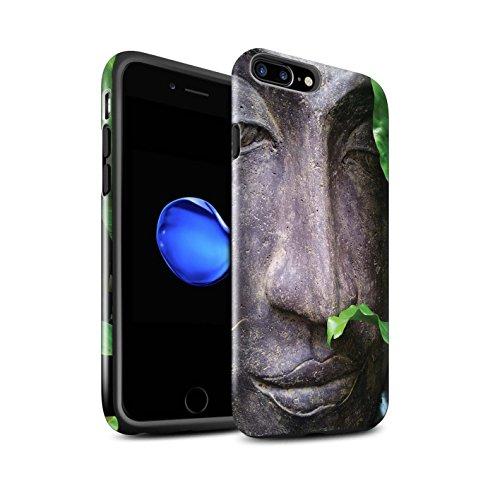 STUFF4 Glanz Harten Stoßfest Hülle / Case für Apple iPhone 6+/Plus 5.5 / Ginkaku-Ji Tempel Muster / Innerer Frieden Kollektion Zen Statue