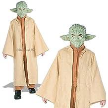Deluxe Para Niños Yoda Rubies Star Wars Oficial Infantil Jedi Disfraz