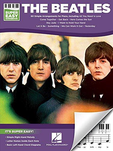 The Beatles: Super Easy Songbook: Songbook für Gitarre, Gesang