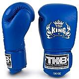 KINGTOP Top King - Guantes de Boxeo para Muay Thai Boxing, MMA, Color Azul
