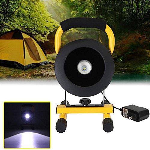 Bazaar 30W tragbare einstellbare wiederaufladbare LED Flutlicht IP65 Outdoor Notfall Camping Lampe AC110-220V