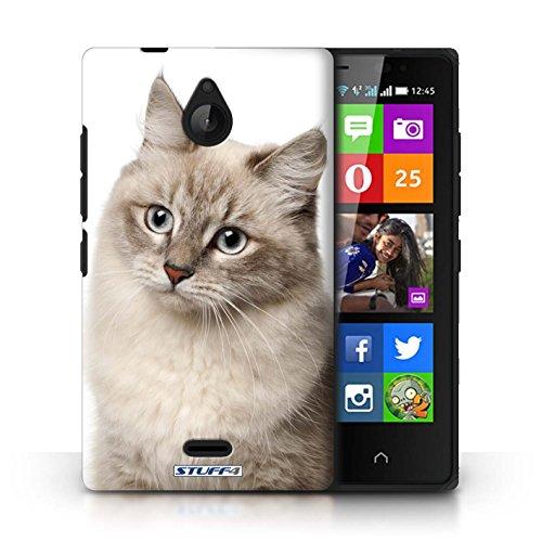 Kobalt® Imprimé Etui / Coque pour Nokia X2 Dual Sim / Sibérien conception / Série Espèces de chats Sibérien