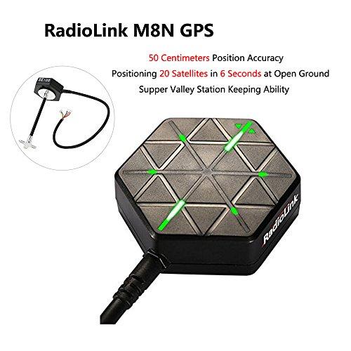 Preisvergleich Produktbild ZCGC-DE RadioLink M8N GPS SE100 con Supporto da Costruire En Bussola Antenne Par PIX PX4 Pixhawk APM flug controller