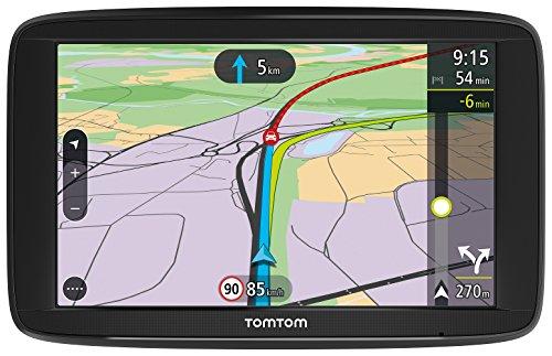 """TomTom Via 62 Europa 48 GPS per Auto, Display da 6"""", Mappe a Vita, Chiamate in Vivavoce, Nero/Antracite [Versione Italia]"""