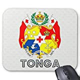 Tonga Coat of Arms Mouse Pad 18×22 cm