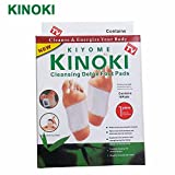 Cpixen Kinoki Cleansing Detox Foot Patches 10 Adhesive Pads Kit Natural Unwanted Toxins Remover