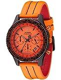 Detomaso - Homme - Firenze - SL1624C - Quartz Chronographe - Cadran Orange - Orange - Bracelet Cuir