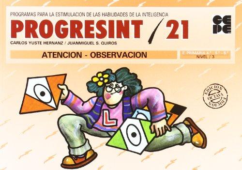 Progresint. 21. Atencion - observacion