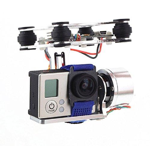 DJI Phantom Brushless Gimbal Camera Frame + 2*Motors +Controller for Gopro 4 3+ 3 FPV (Spielzeug Predator-drohne)