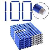 TENGER 100er Pack 7.2cm Darts Pfeile Refill Bullets Spielzeugblasterzubehör für Nerf Nachfüllpack