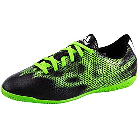 Adidas F5IN scarpe da calcio uomo calcio palestra indoor Celestone b35989, Uomo, nero, 7