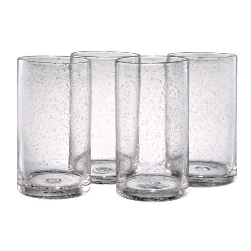 Artland Iris Highball Glasses, Clear, Set of 4 by Artland - Iris Highball