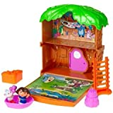 Dora the Explorer Let's Go Adventure Treehouse Mini Playset by Fisher-Price (English Manual)