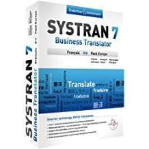 Systran 7 Business Translator  Francais-Europe
