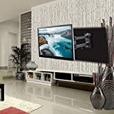 """Gadget-Wagon 43"""" LED Full Motion TV Wall Mount with Rotate and Tile Option"""